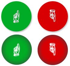 кнопка нравится на CSS