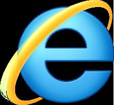 internet explorer лого