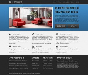 дизайн для бизнес сайта