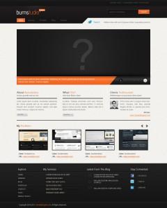 дизайн персонального сайта