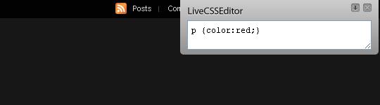 live css editor google chrome