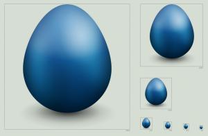 иконка твиттер яйцо