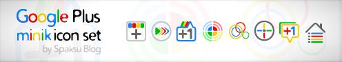 google+ иконки