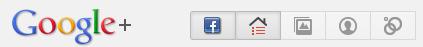 facebook в google+