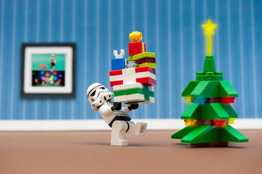новогодний лего