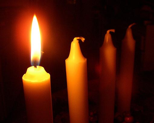 рожденственская свеча