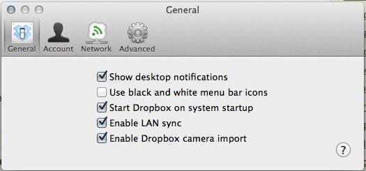 Dropbox MacOS