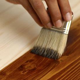 Лак-бейц для обработки древесины