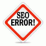 Ошибки при раскрутке сайта