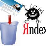 Санкции от Yandex